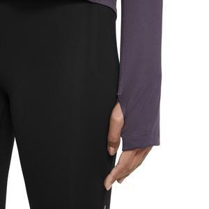 W Nk Miler Top Ls Kadın Mor Koşu Uzun Kollu Tişört AJ8128-573