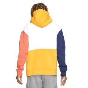 M J Jumpman Air Gfx Flc Po Erkek Beyaz Basketbol Sweatshirt CW8434-100
