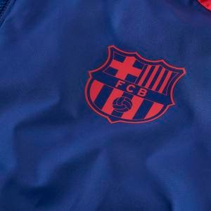 Fcb M Nk Awf Lte Jkt Gx Erkek Mavi Futbol Ceket CI9188-455