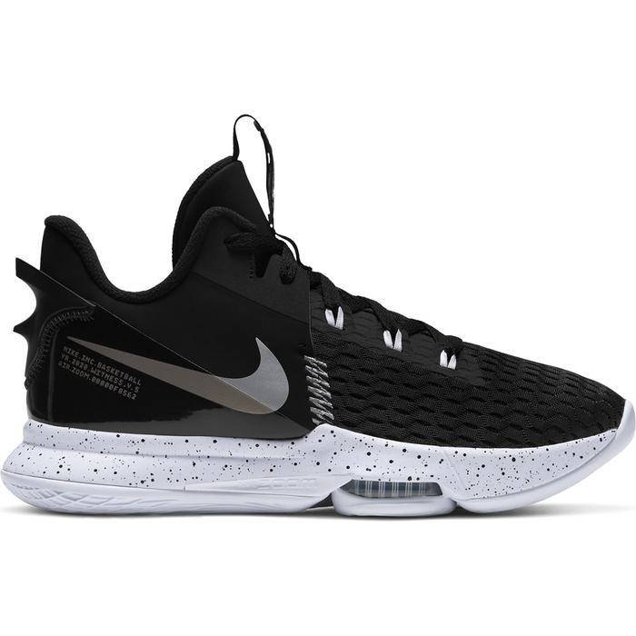 Lebron Witness V Unisex Siyah Basketbol Ayakkabısı CQ9380-001 1232772
