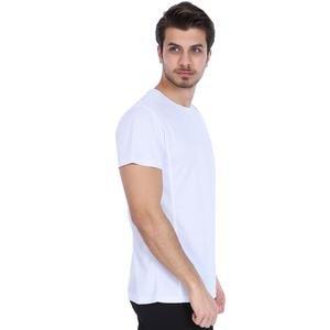 Spo-Fortunato Erkek Beyaz Günlük Stil Tişört 710301-00W-SP