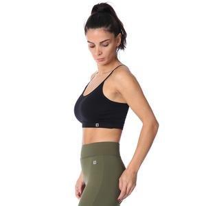 Spo-Seambraz Kadın Siyah Yoga - Pilates Sporcu Sütyeni 710031-00B-SP