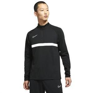 M Nk Df Acd21 Dril Top Erkek Siyah Futbol Uzun Kollu Tişört CW6110-010
