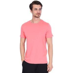 Spo-Basic Erkek Pembe Günlük Stil Tişört 710200-0MR-SP