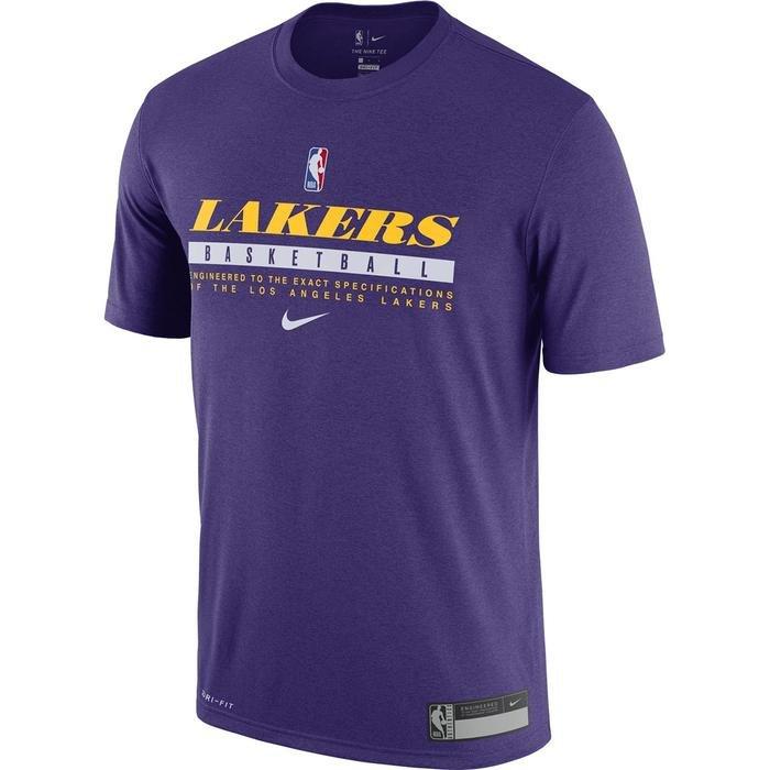 Los Angeles Lakers NBA Tee Es Prtc Gpx Ss Erkek Mor Basketbol Tişört CK8243-547 1274918