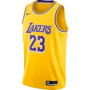 Los Angeles Lakers Lebron James Swingman NBA Erkek Sarı Basketbol Atlet CW3669-734