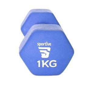 Neopren 1 Kg Unisex Mavi Yoga - Pilates Dambıl SPT-2801V