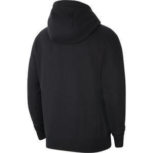 M Nk Flc Park20 Fz Hoodie Erkek Siyah Futbol Sweatshirt CW6887-010