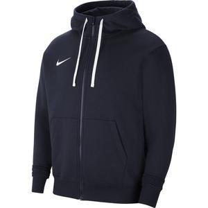 M Nk Flc Park20 Fz Hoodie Erkek Mavi Futbol Sweatshirt CW6887-451