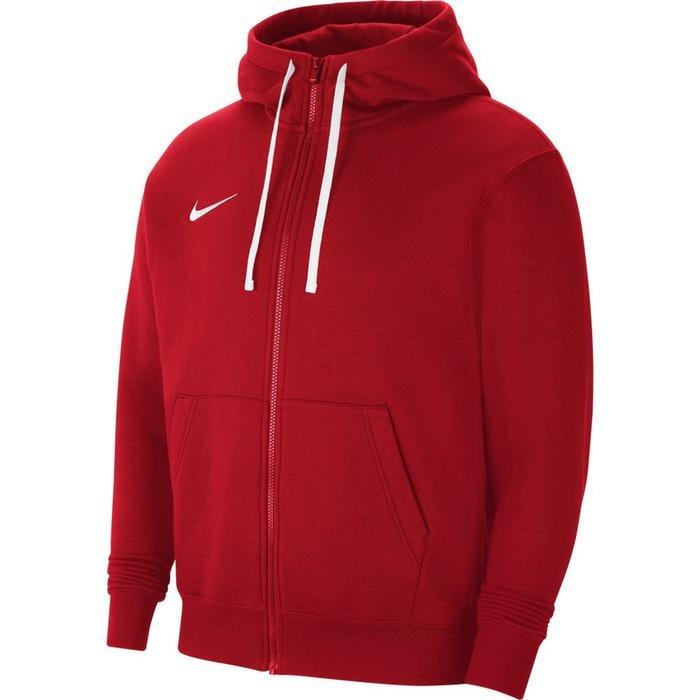 M Nk Flc Park20 Fz Hoodie Erkek Kırmızı Futbol Sweatshirt CW6887-657 1271524