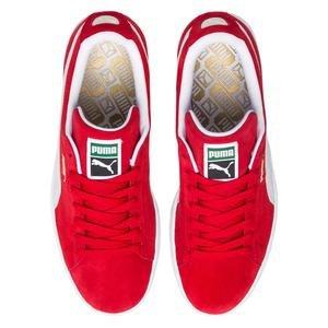 Suede Classic+ Unisex Kırmızı Günlük Ayakkabı 35263465