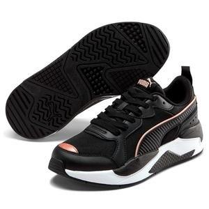 X-Ray Metallic Wn S Kadın Siyah Günlük Ayakkabı 37307201