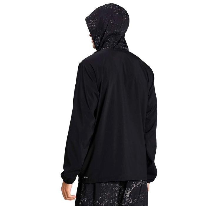 Run Graphic Hooded Jacket Erkek Siyah Antrenman Ceket 52020501 1216194