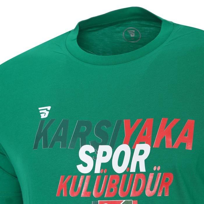 Karşıyaka Erkek Yeşil Basketbol Tişört TKY100102-YSL-B 1277753