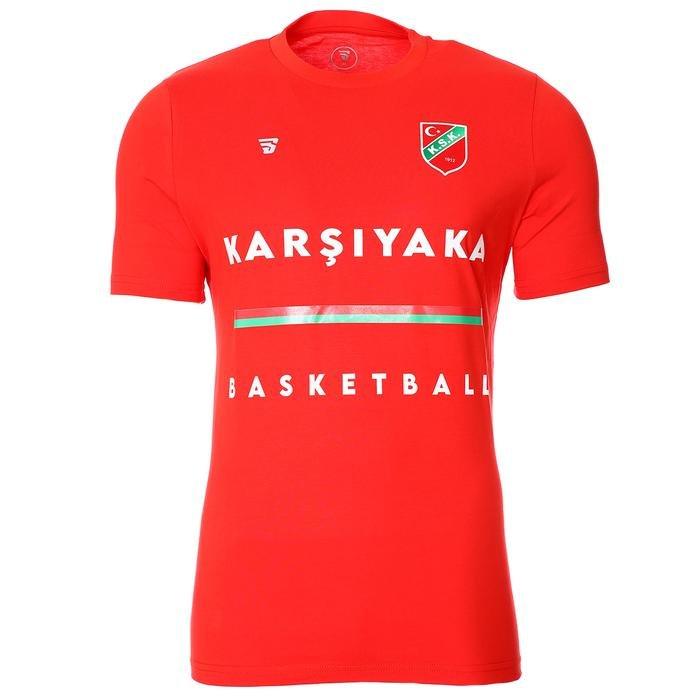 Karşıyaka Erkek Kırmızı Basketbol Tişört TKY100102-KRM-B 1277760