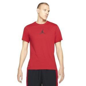 M J Jumpman Df Ss Crew Erkek Kırmızı Basketbol Tişört CW5190-687