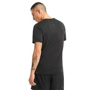 Run Favorite Heather Ss Erkek Siyah Antrenman Tişört 52020901
