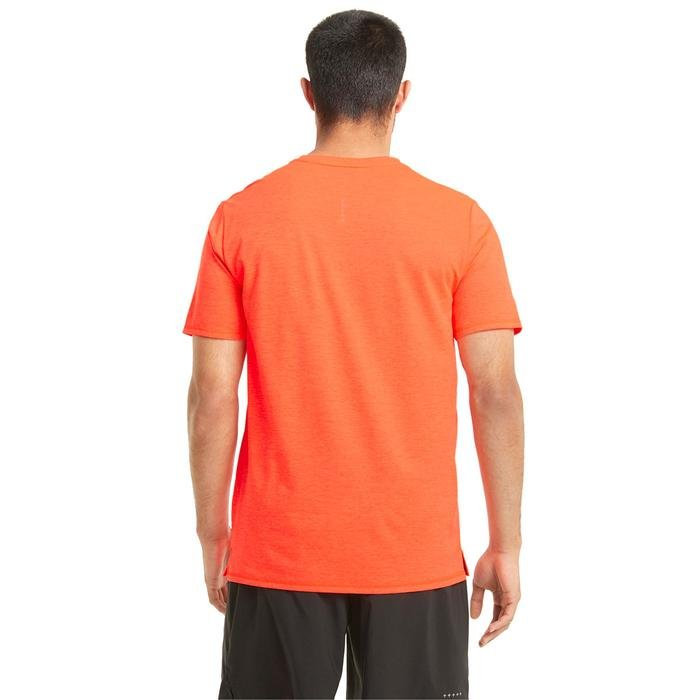 Run Favorite Heather Ss Erkek Turuncu Antrenman Tişört 52020984 1216216