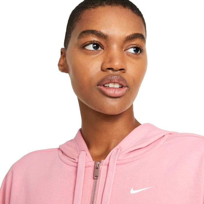 W Nk Dry Get Fit Flc Grx Fz Kadın Kırmızı Antrenman Sweatshirt DA0378-630 1274372