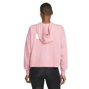 W Nk Dry Get Fit Flc Grx Fz Kadın Kırmızı Antrenman Sweatshirt DA0378-630