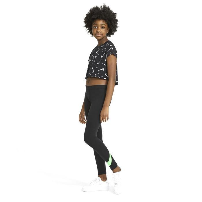 G Nsw Favorites Swsh Tight Çocuk Siyah Günlük Stil Tayt AR4076-015 1273599