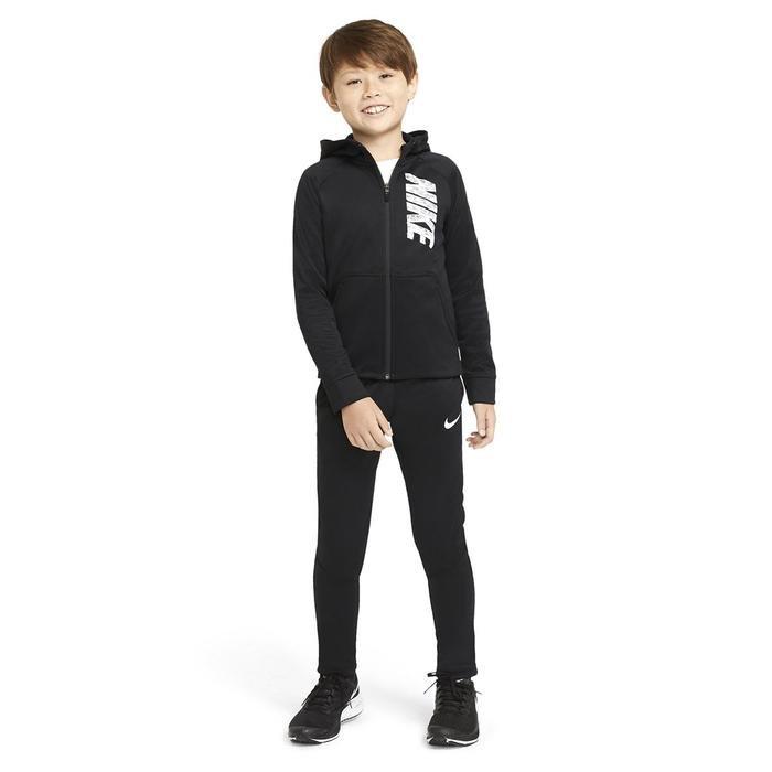 B Nk Therma Gfx Fz Hoodie Çocuk Siyah Günlük Stil Sweatshirt CU9087-010 1273421