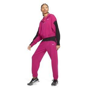 W Nsw Icn Clsh Hoodie Qz Mix Kadın Kırmızı Günlük Stil Sweatshirt CZ8164-615