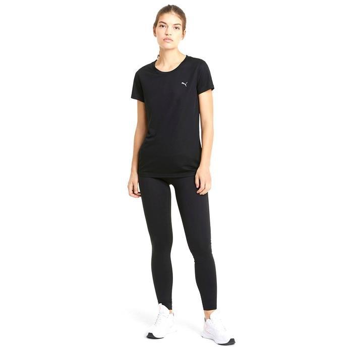 Performance Tee Kadın Siyah Antrenman Tişört 52031101 1216613