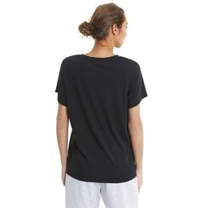 Evostripe Kadın Siyah Günlük Stil Tişört 58594101
