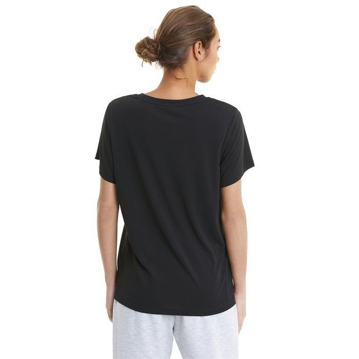 Evostripe Kadın Siyah Günlük Stil Tişört 58594101 1217719