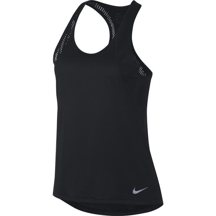 W Nk Run Tank Kadın Siyah Koşu Atlet 890351-010 1124731