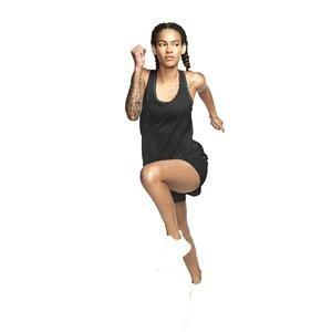 W Nk Run Tank Kadın Siyah Koşu Atlet 890351-010