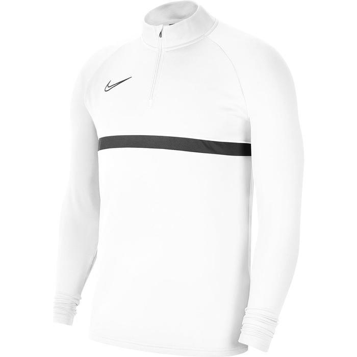 M Nk Df Acd21 Dril Top Erkek Beyaz Futbol Uzun Kollu Tişört CW6110-100 1203621