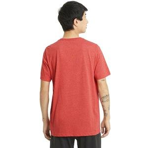 Ess Heather Tee Erkek Kırmızı Günlük Stil Tişört 58673611