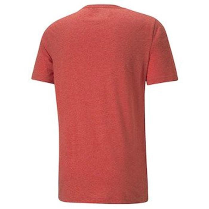 Ess Heather Tee Erkek Kırmızı Günlük Stil Tişört 58673611 1218136