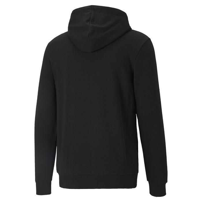 Ess Big Logo Hoodie Erkek Siyah Günlük Stil Sweatshirt 58668801 1218043