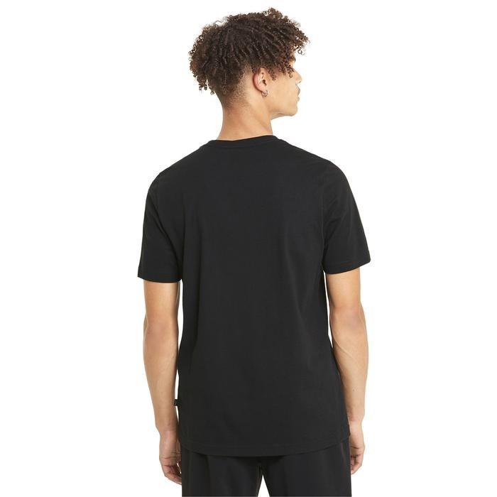 Ess Logo Tee Erkek Siyah Günlük Stil Tişört 58666601 1217964