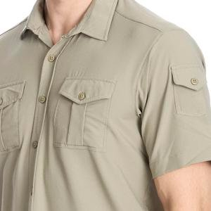 Spo-Safkisshirt Erkek Bej Koşu Gömlek 710116-0LT-SP