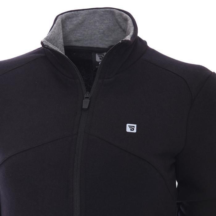 Raswomust Kadın Siyah Günlük Stil Sweatshirt 711209-SYH 1158466