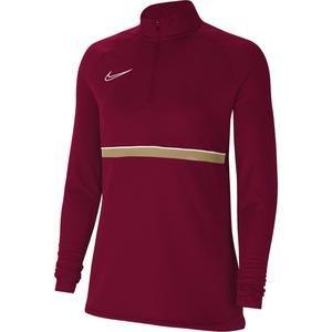 W Nk Df Acd21 Dril Top Kadın Kırmızı Futbol Uzun Kollu Tişört CV2653-677