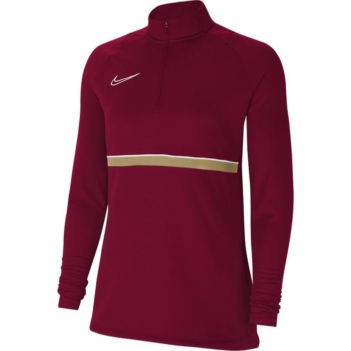 W Nk Df Acd21 Dril Top Kadın Kırmızı Futbol Uzun Kollu Tişört CV2653-677 1272599