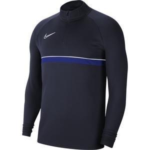 M Nk Df Acd21 Dril Top Erkek Mavi Futbol Uzun Kollu Tişört CW6110-453