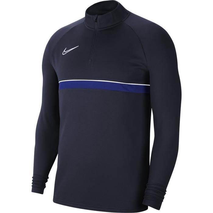 M Nk Df Acd21 Dril Top Erkek Mavi Futbol Uzun Kollu Tişört CW6110-453 1271609