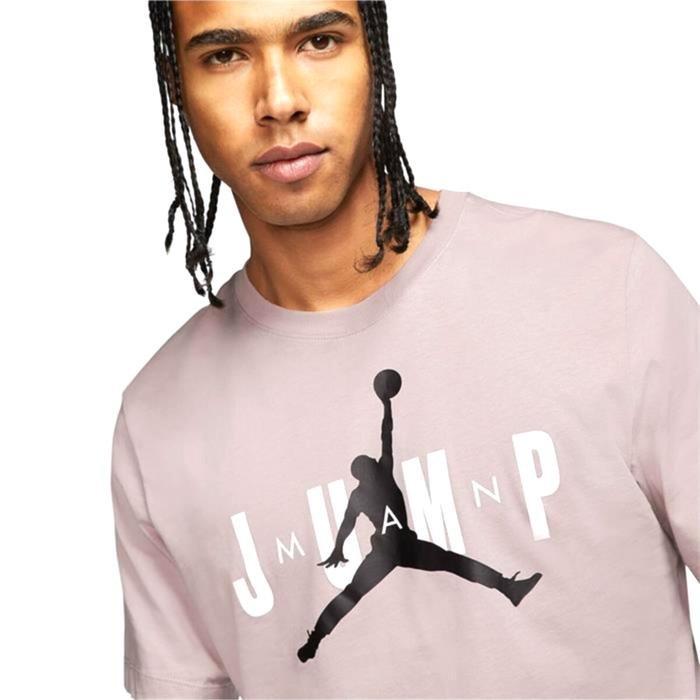 M J Ctn Ss Jump Crew Erkek Kahverengi Basketbol Tişört CD5616-286 1175575