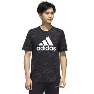 M E Aop T Erkek Siyah Günlük Stil Tişört GD5484