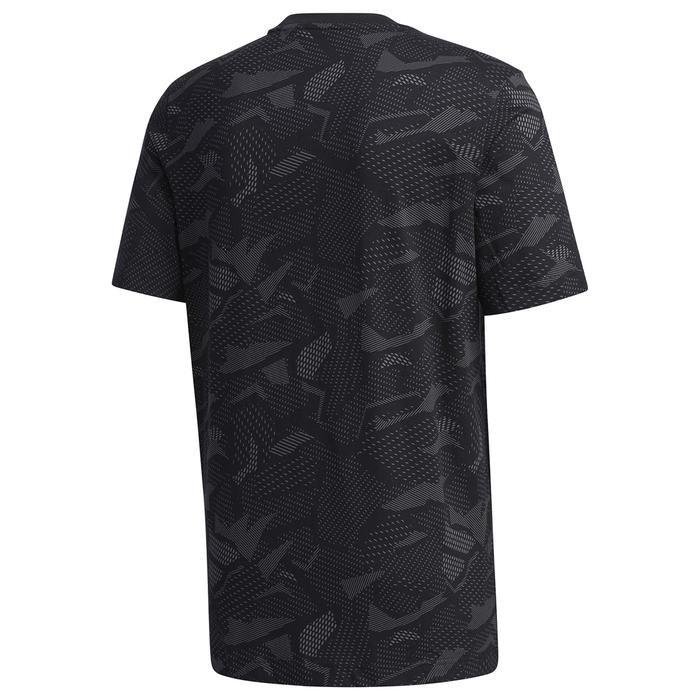 M E Aop T Erkek Siyah Günlük Stil Tişört GD5484 1224065