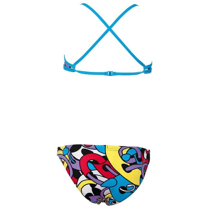 Cores Kız Çocuk Desenli Bikini Takımı 2A05248 753606