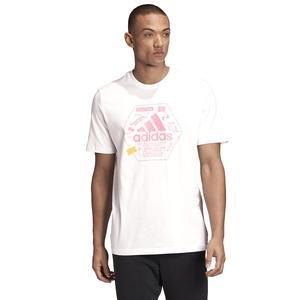 Snack Bos Tee 1 Erkek Beyaz Günlük Stil Tişört GE4657