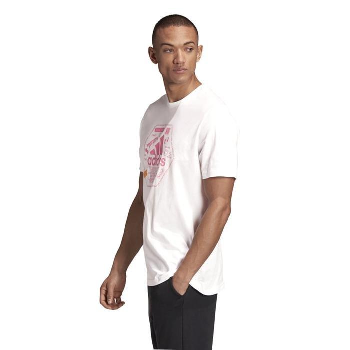 Snack Bos Tee 1 Erkek Beyaz Günlük Stil Tişört GE4657 1224224