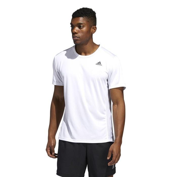 Run It Tee M Erkek Beyaz Koşu Tişört ED9292 1221951